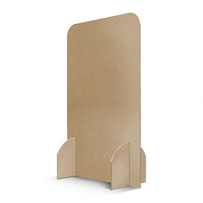 Cloison de protection geste barrière BIKOM Signalétique gestes barrières