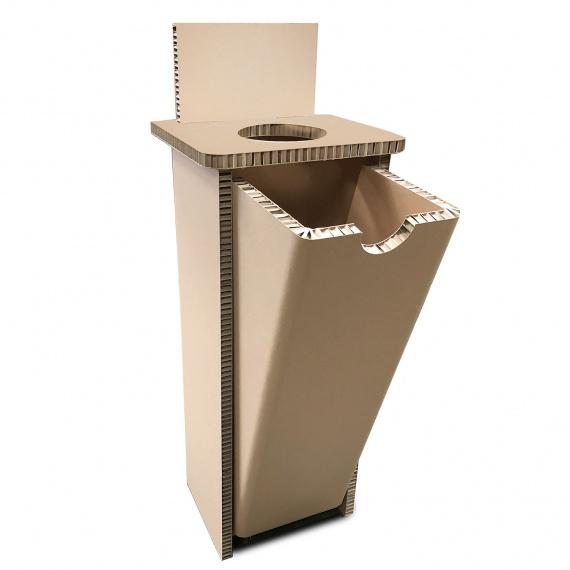 Corbeille de tri sélectif en carton BIKOM Poubelle et corbeille en carton