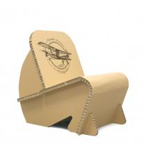mobilier-en-carton-Fauteuil en carton design