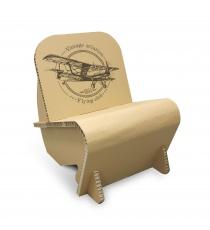 Fauteuil en carton design