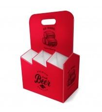 Porte bouteille en carton