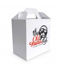 lunch box en carton blanc