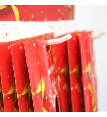 PLV à broches pour carte cadeaux