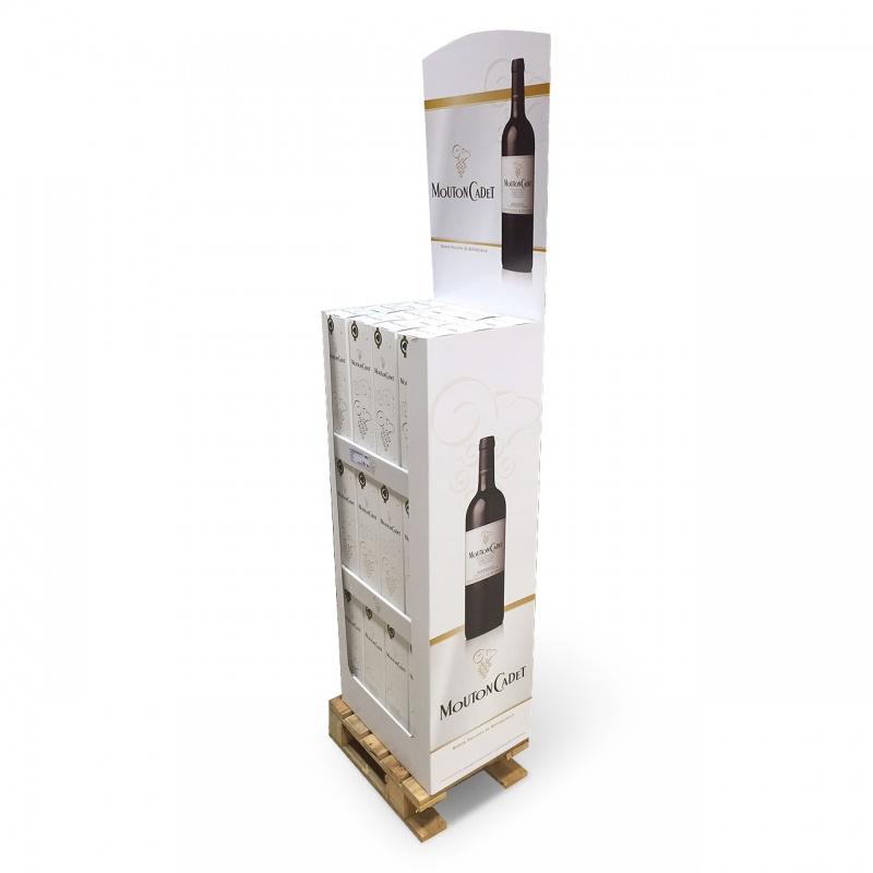 Box palette pour bouteilles BIKOM Box palette