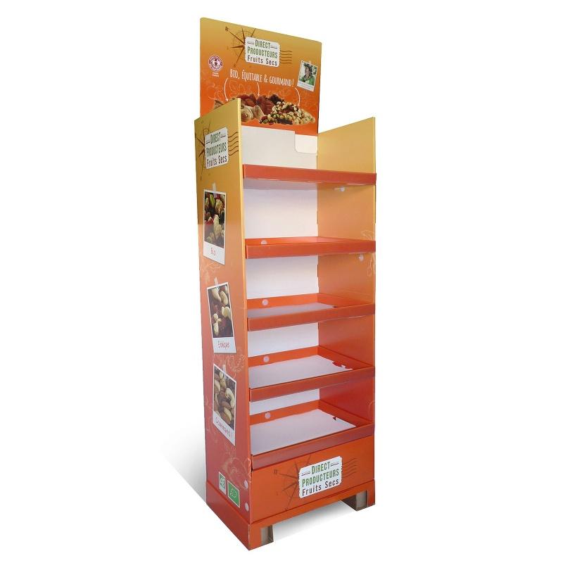fabricant_plv_Présentoir cache palette en carton, sur mesure