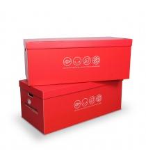 Caisse pour boites à archives