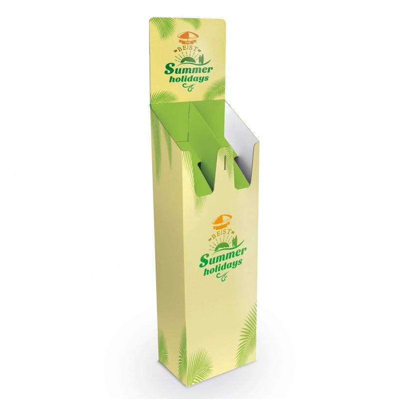 BIKOM Porte catalogue carton double case