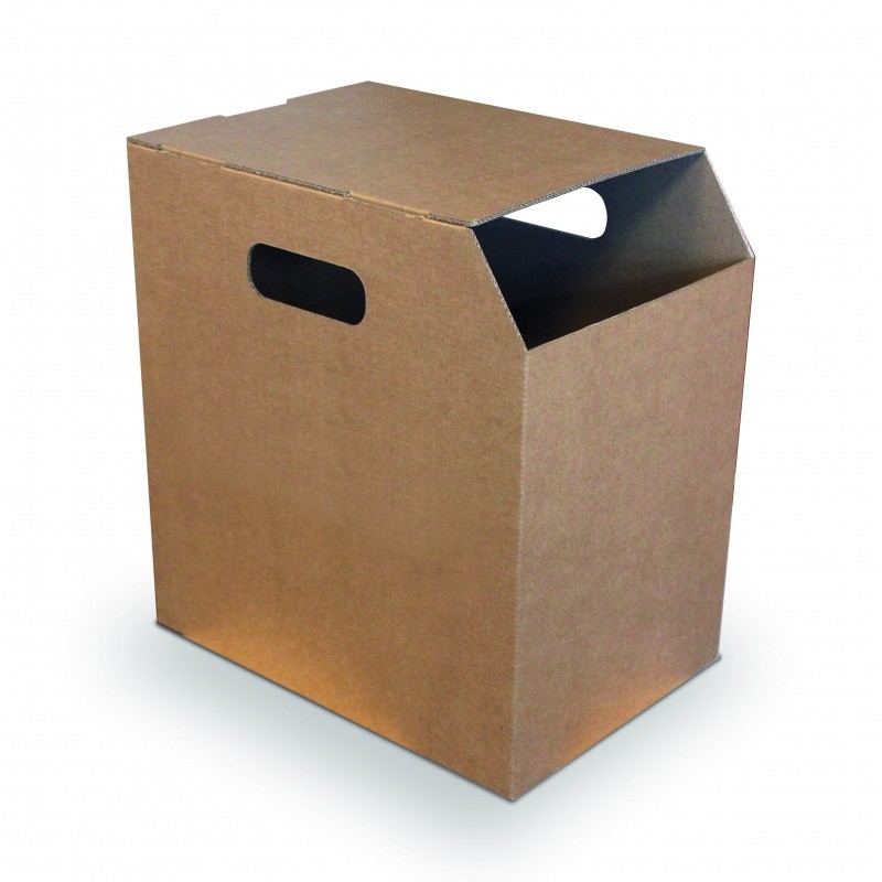 Poubelle carton pour feuille A4 BIKOM Poubelle et corbeille en carton