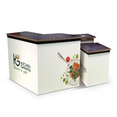 Meuble de cuisine en carton