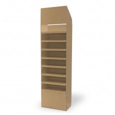 Display carton 8 étagères