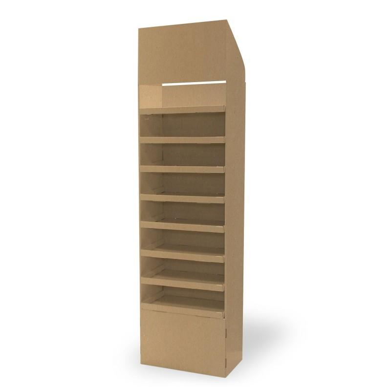 fabricant_plv_Display carton 8 étagères
