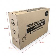 Boite E-commerce 215 x 155 x 80