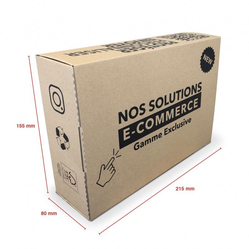 Boite E-commerce 215 x 155 x 80 BIKOM Emballage carton e-commerce