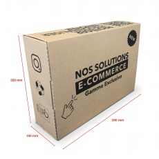 Boite E-commerce 250 x 200 x 100 mm