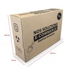 Boite E-commerce 400 x 300 x 70 mm