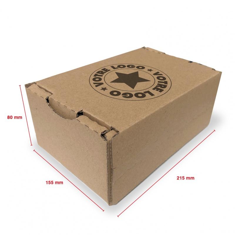 Carton E-commerce Eco 215 x 155 x 80 BIKOM Emballage carton e-commerce