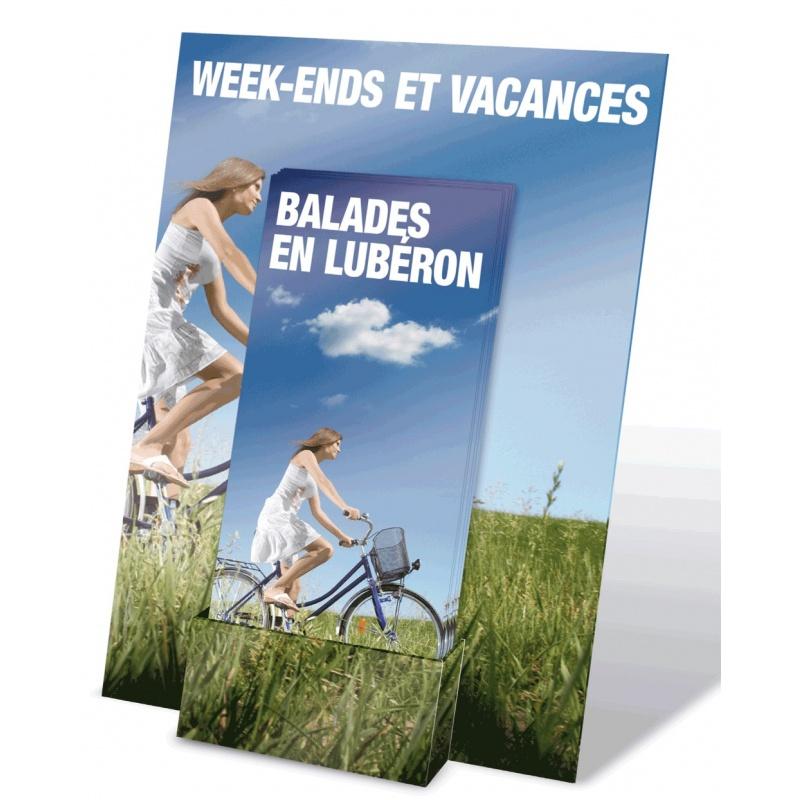fabricant_plv_Présentoir flyers 21 x 29,7 cm