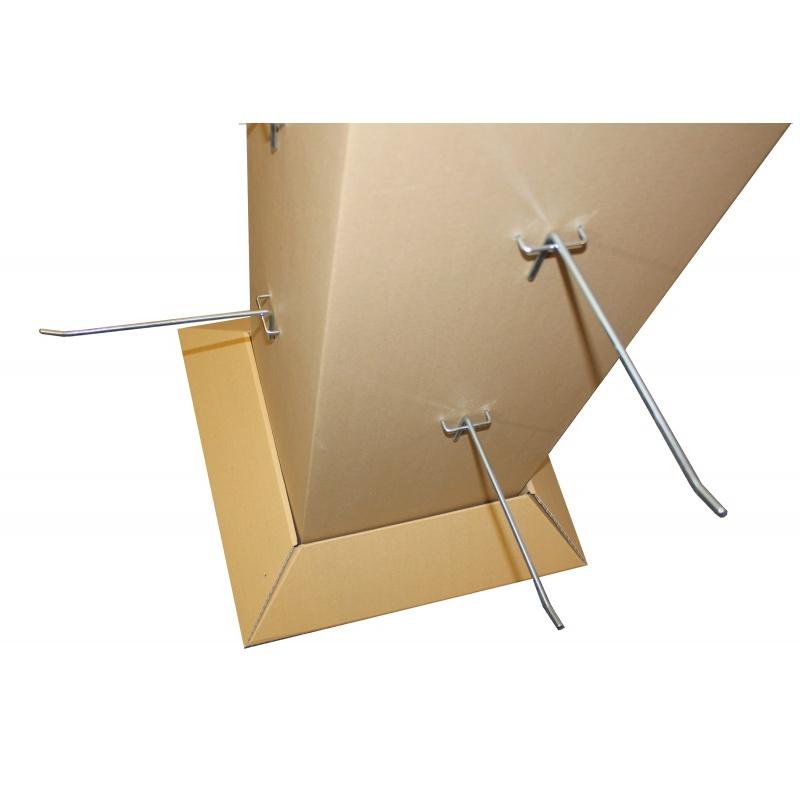 fabricant_plv_PLV carton avec tige support