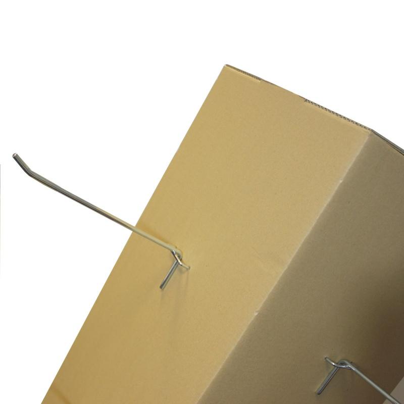 presentoir-masque-Tour / support produits en carton personnalisable