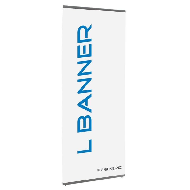 Banner Style 80 x 200 cm BIKOM X-Banner, Banner, L-Banner