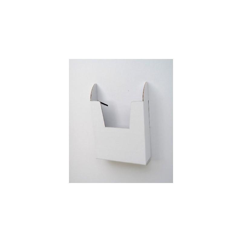 Totem elliptique 190 x 60 cm BIKOM Totem elliptique en carton