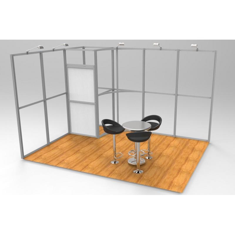 Stand modulaire Linéar 12 m2 BIKOM Stand modulaire