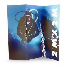 mobilier-en-carton-Mur d'image en carton 200 x 200 cm