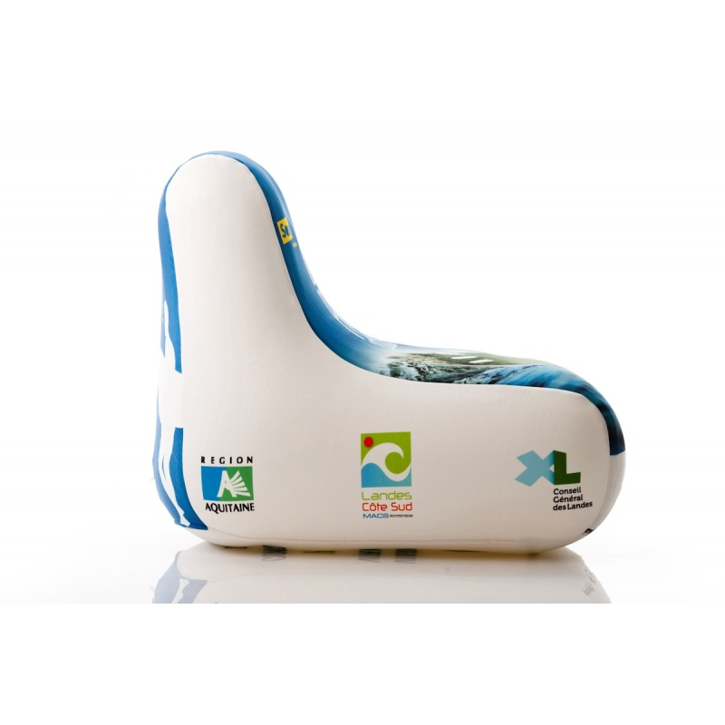 Fauteuil gonflable personnalisable UNC Pro   Mobilier gonflable