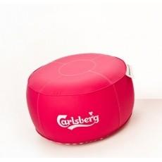 Pouf gonflable personnalisable UNC Pro   Mobilier gonflable personnalisé