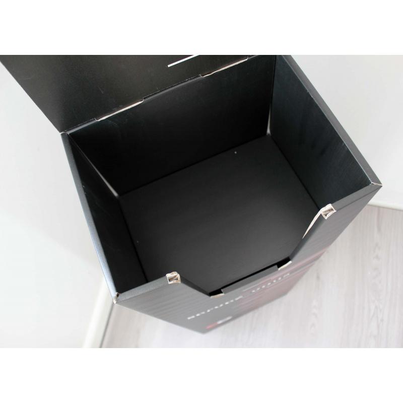 PLV en carton pour journaux et catalogue BIKOM Porte catalogues