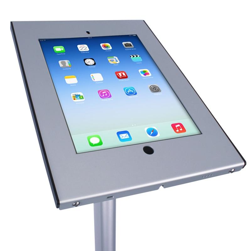 Porte ipad métal sur pied BIKOM Porte iPad