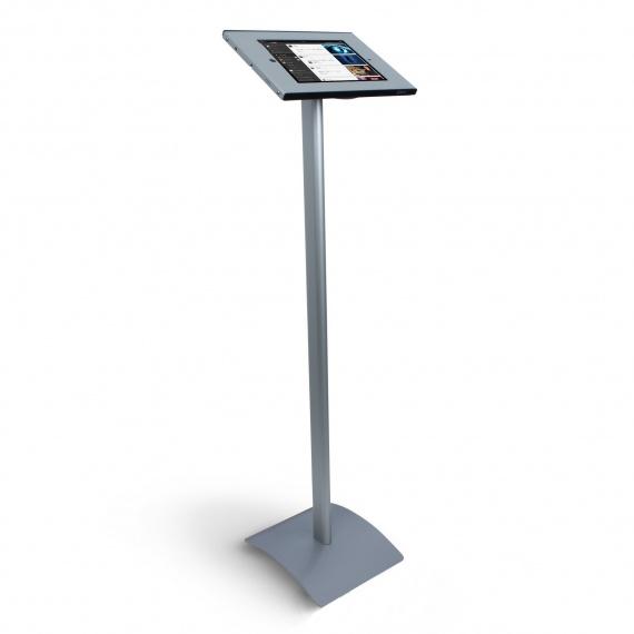 Porte ipad métal sur pied BIKOM Porte iPad, affichage multimédia
