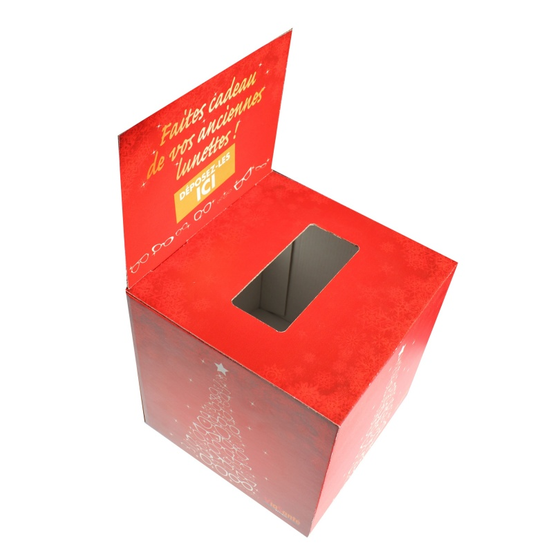 BIKOM Urne en carton pour lunette