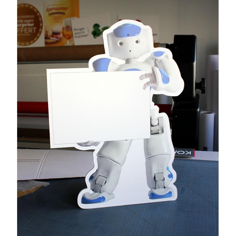fabricant_plv_Mini silhouette en carton