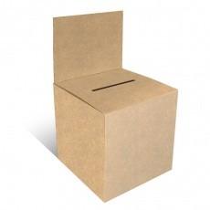Urne en carton 15 x 15 cm Kraft