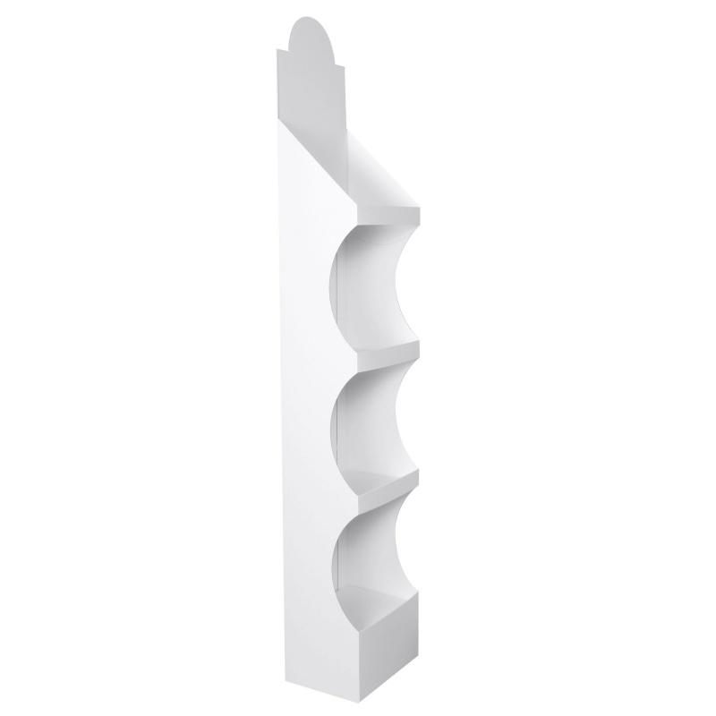 fabricant_plv_PLV en carton Blanc 31 x 24 x 175 cm