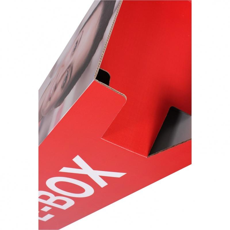 BIKOM Présentoir porte catalogue A4 ou A5 en carton