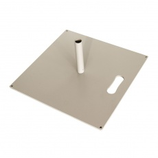 Embase carré pour Feather 13 kg BIKOM Accessoires drapeau extérieur