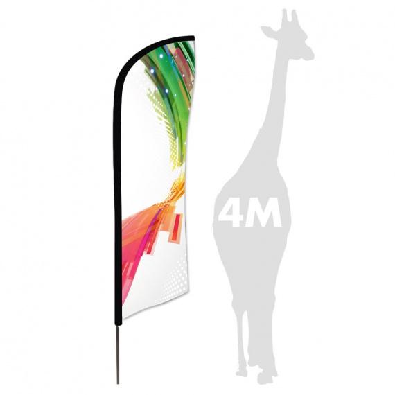 Drapeau Zoom Feather 4 m