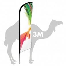 Drapeau Zoom Feather 3 m