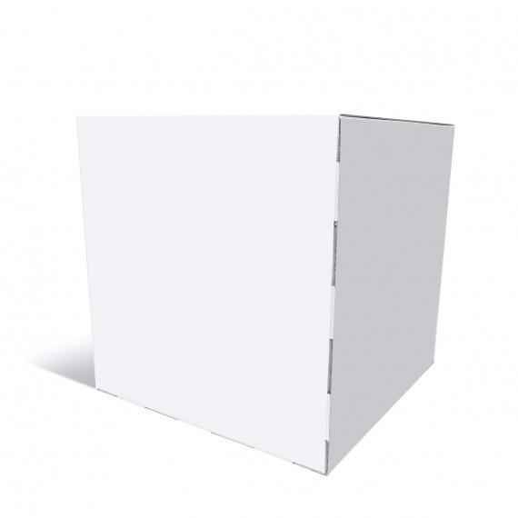Cube 50 x 50 x 50 cm en blanc