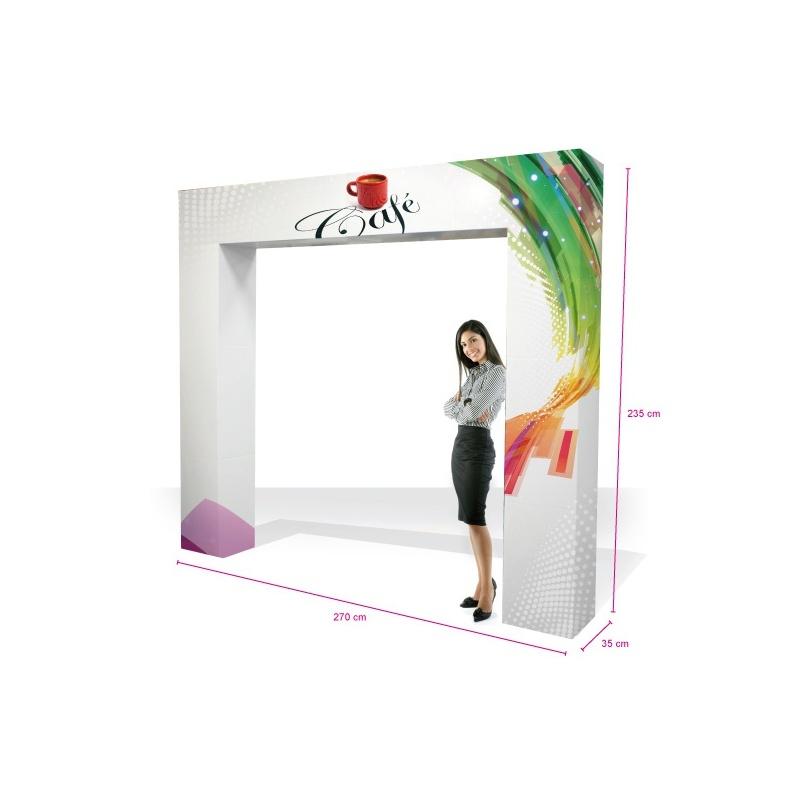 fabricant_plv_Arche en carton grand modèle