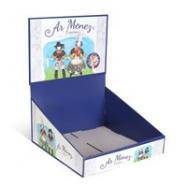 PLV de présentation : chevalets et présentoirs en carton