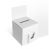 Urne en carton blanche ou kraft