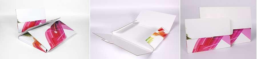 pochette en carton