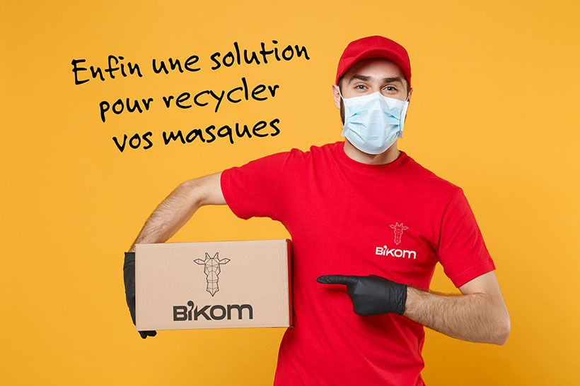 recyclage masque solution